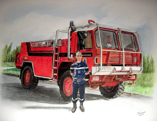 Encore plus de divers thierry tabutaud - Dessin d un camion de pompier ...